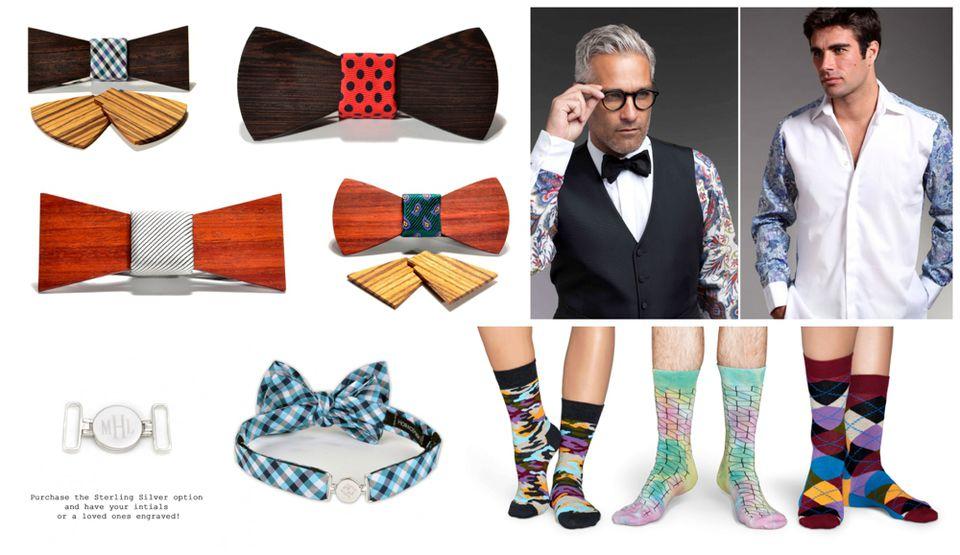 colorful men's attire