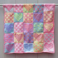 Crochet Sampler Baby Afghan