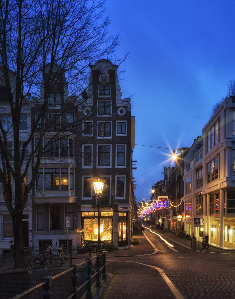 the 'seven streets' shopping streets in Amsterdam
