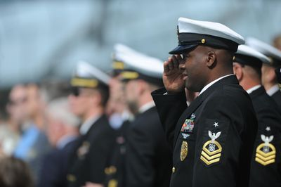 A Member Of The U S Navy