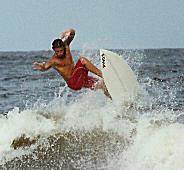 Sean Rogge Aerial Surfing