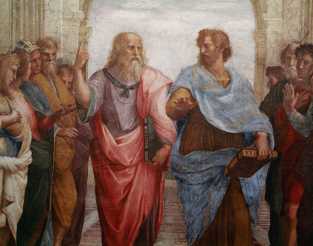 aristotle vs platos view on happiness