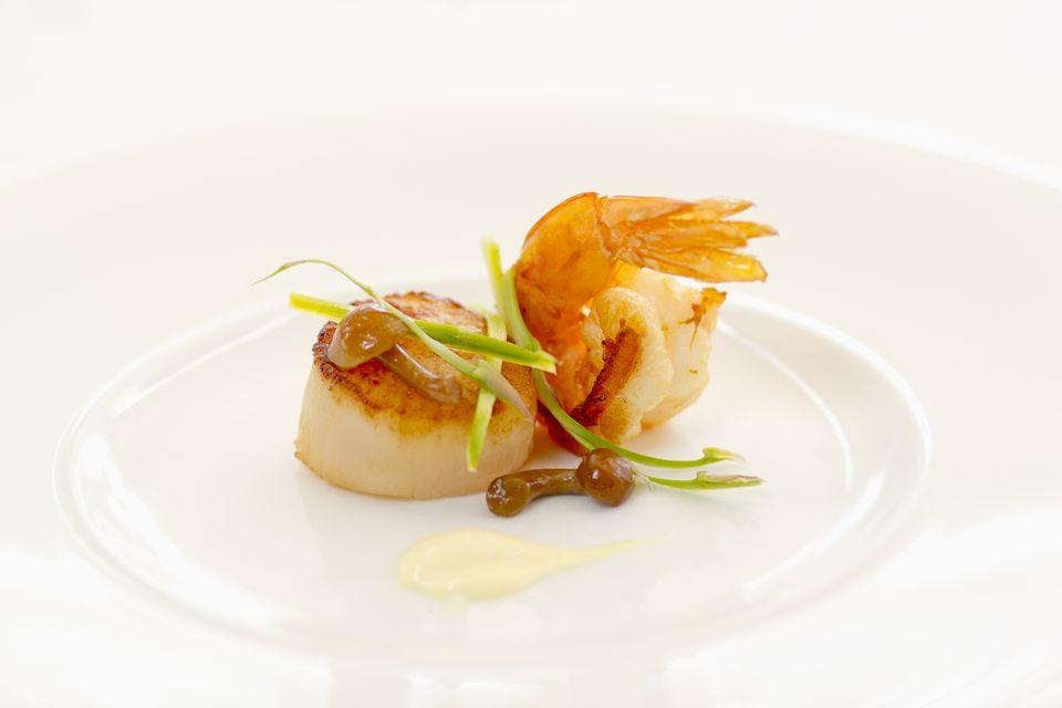Scallop and Shrimp