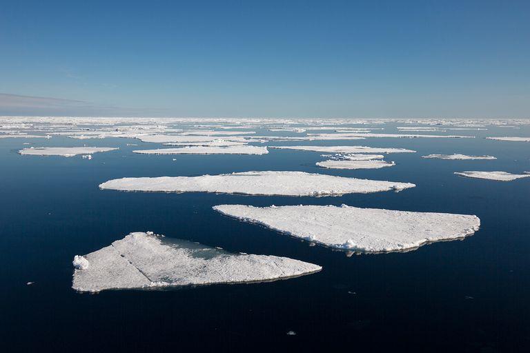 Norway, Spitsbergen, Drift Ice in the Arctic Ocean