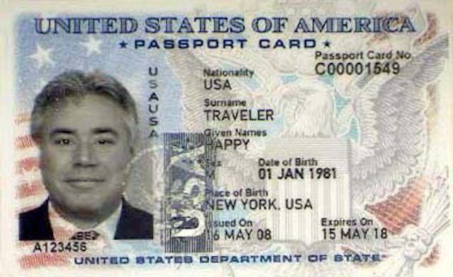 US Passport Card