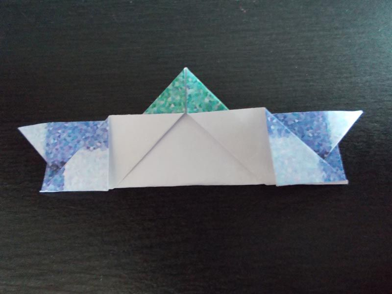 How to make an origami birthday card origami birthday card bookmarktalkfo Choice Image