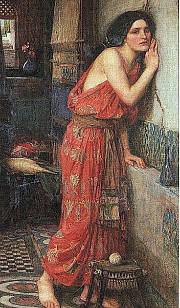 Thisbe, by John William Waterhouse 1909.