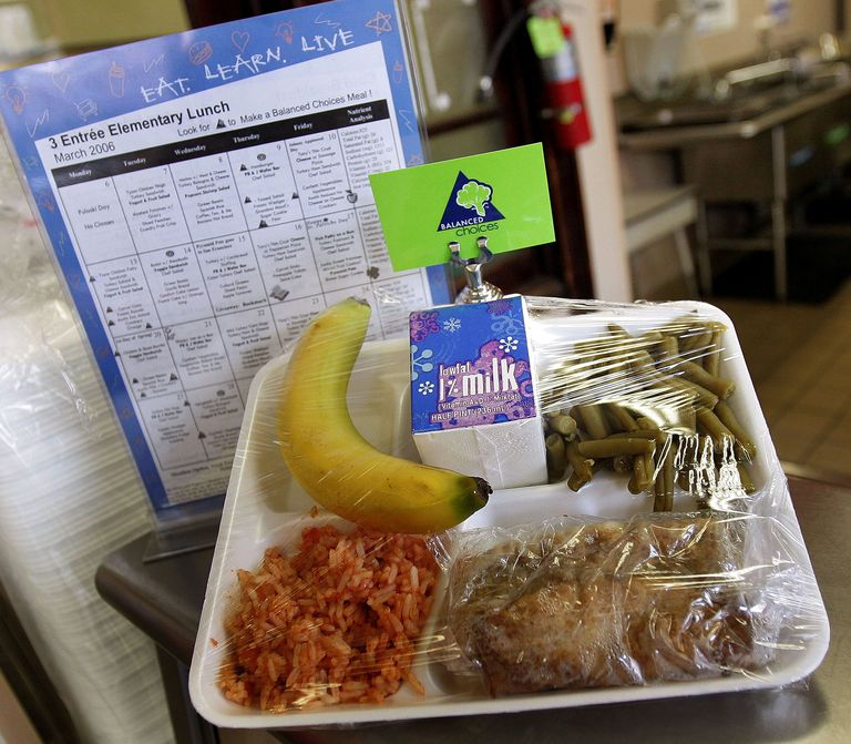 A new healthy USDA-required school meal