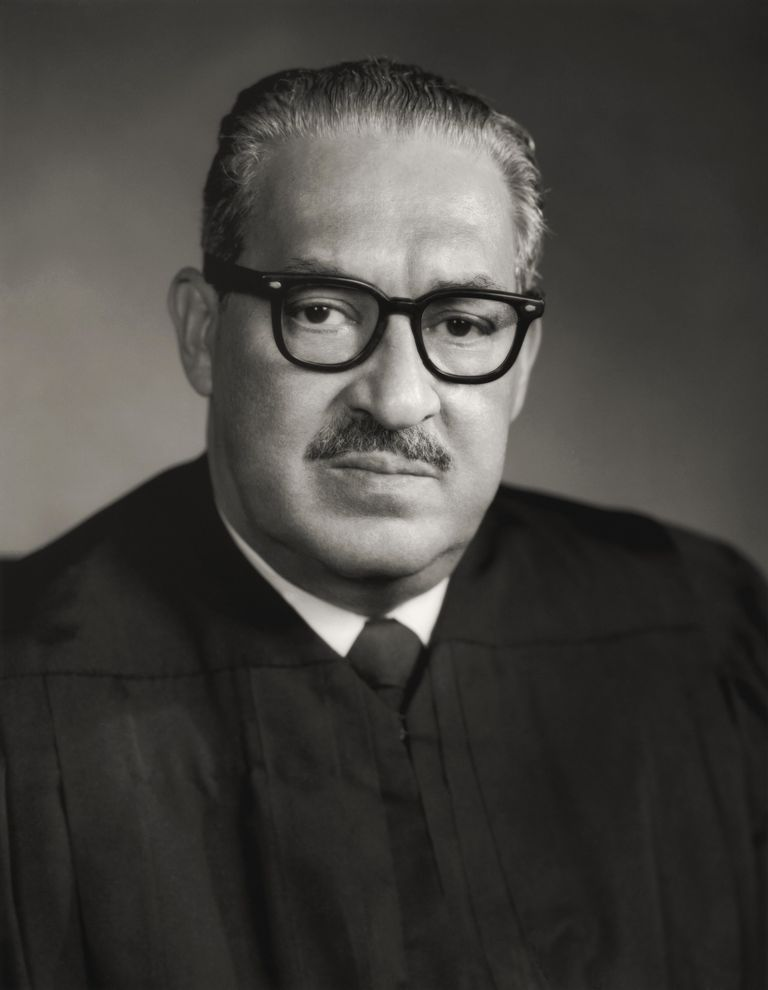 Picture of Thurgood Marshall.