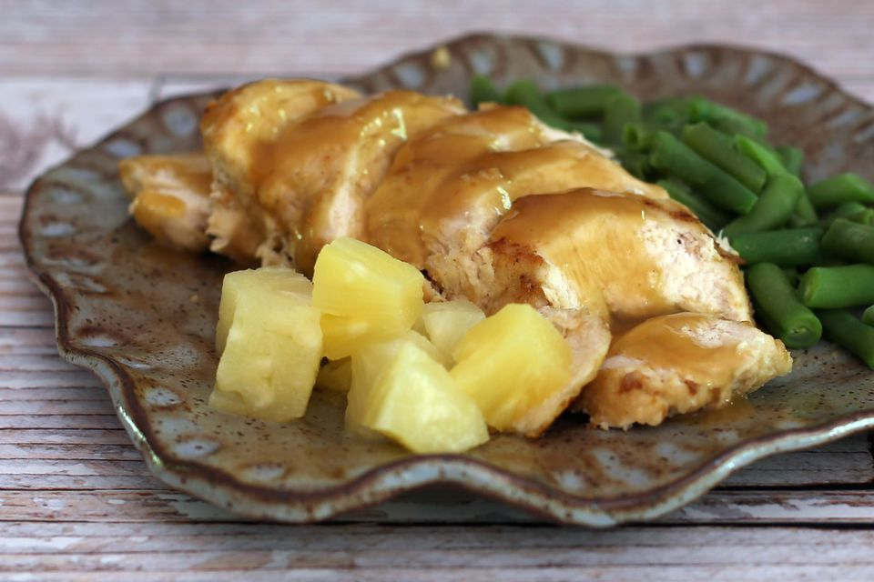 Pineapple Baked Chicken
