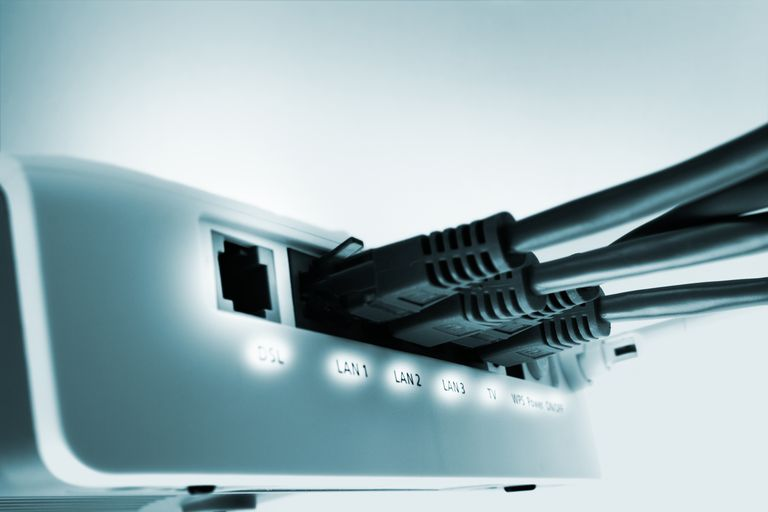 home network switch with free DSL port