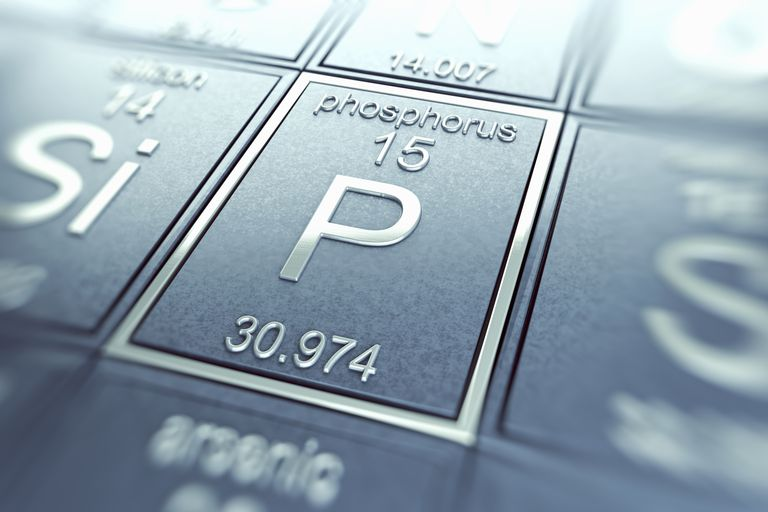 Phosphorus is a nonmetal element on the periodic table.