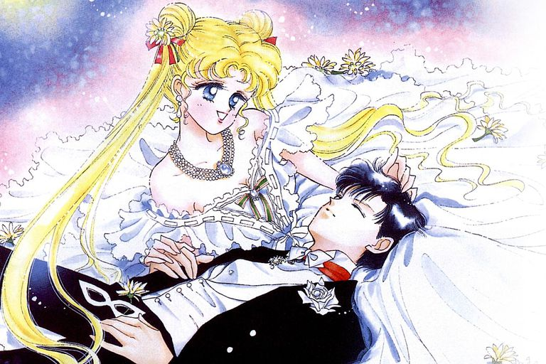 6 Most Romantic Anime Couples Sailor Moon And Tuxedo Mask