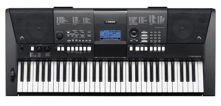 yamaha psr e423 a 61 key musical keyboard. Black Bedroom Furniture Sets. Home Design Ideas