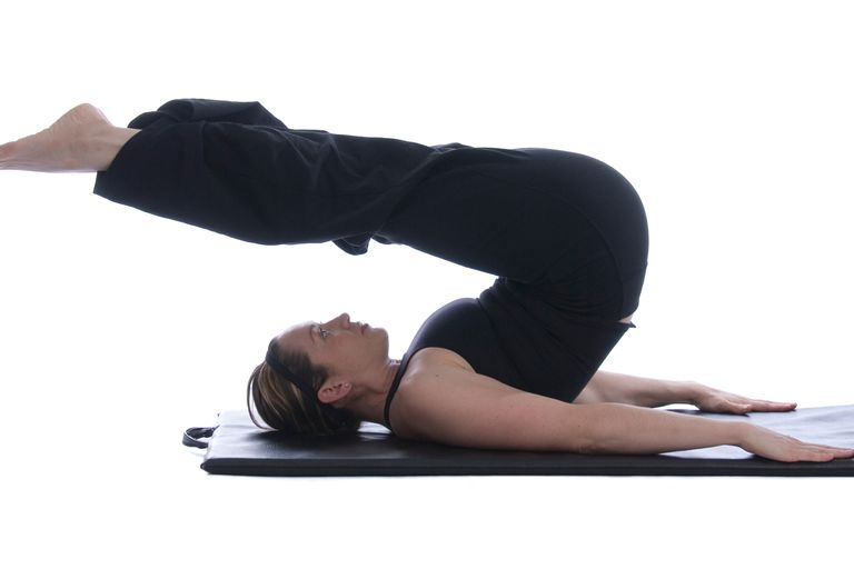 The Pilates roll over.