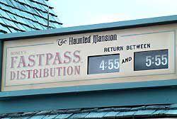 Disneyland Disney World Fastpass photo