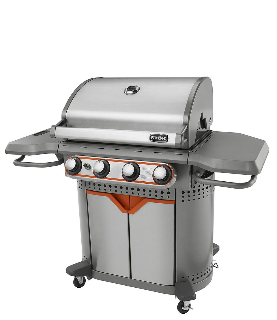 Stok 4-Burner Gas Grill Model# SGP4330SB