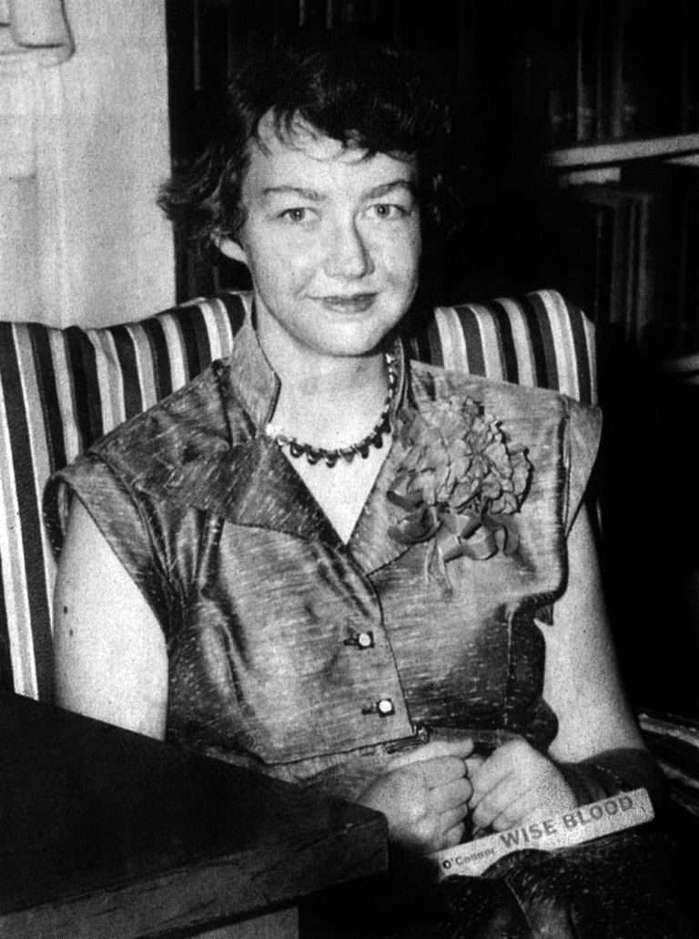 o connor the nature of aim and fiction Flannery o'connor's religious vision  by unimaginative and half-dead catholics who would be startled to know the nature of what they defend by formula  features of o'connor's fiction.