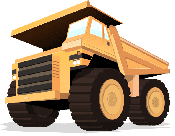 Picture of the Dump Truck logo