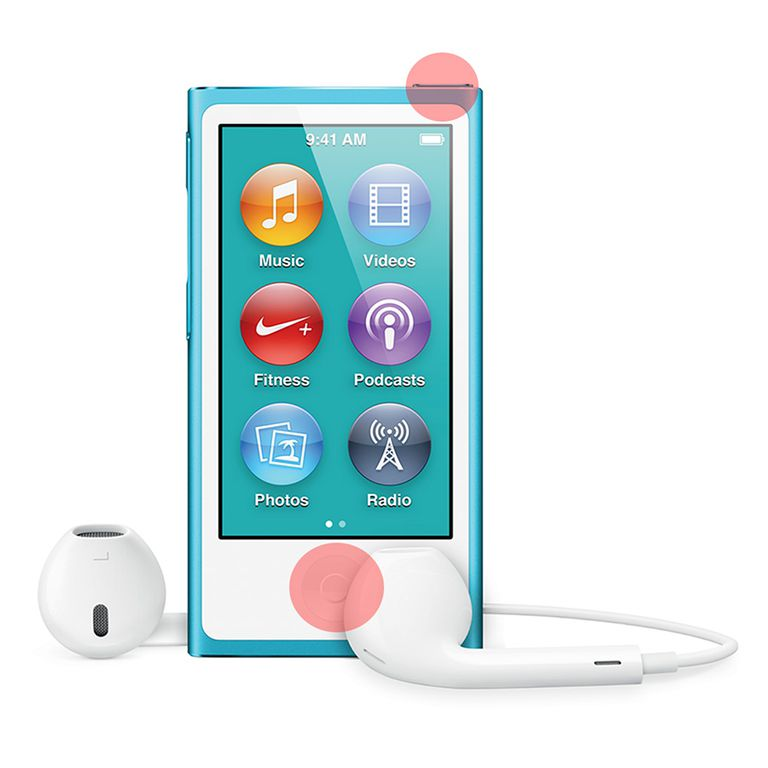 how to restart iPod nano