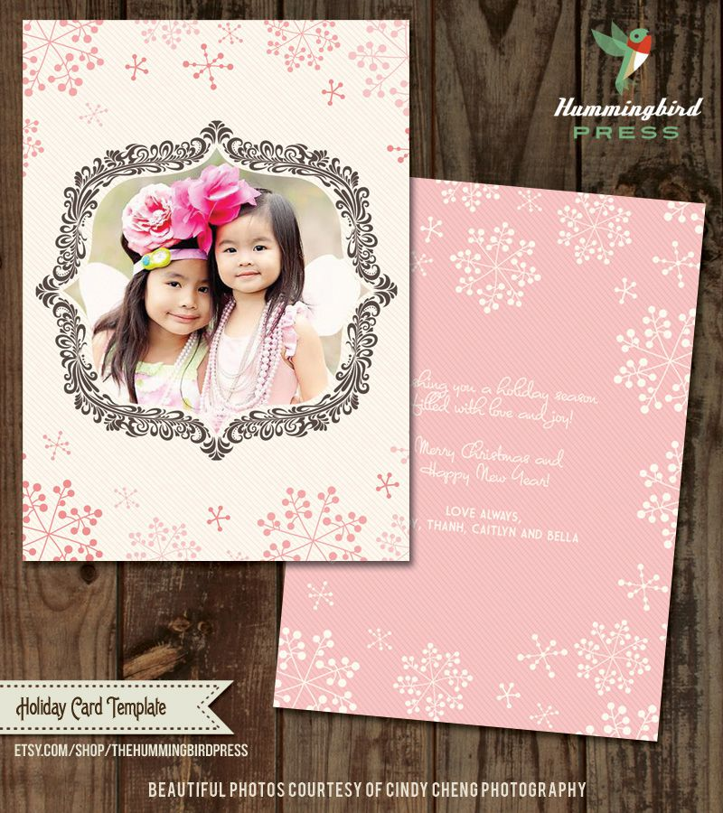41 free christmas card templates for photo cards pronofoot35fo Images