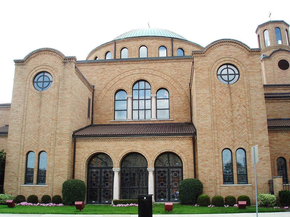 Greek Orthodox Cathedral in Columbus