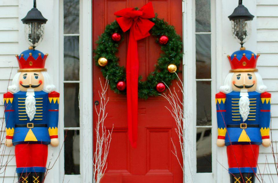 Reindeer Yard Decorations Christmas