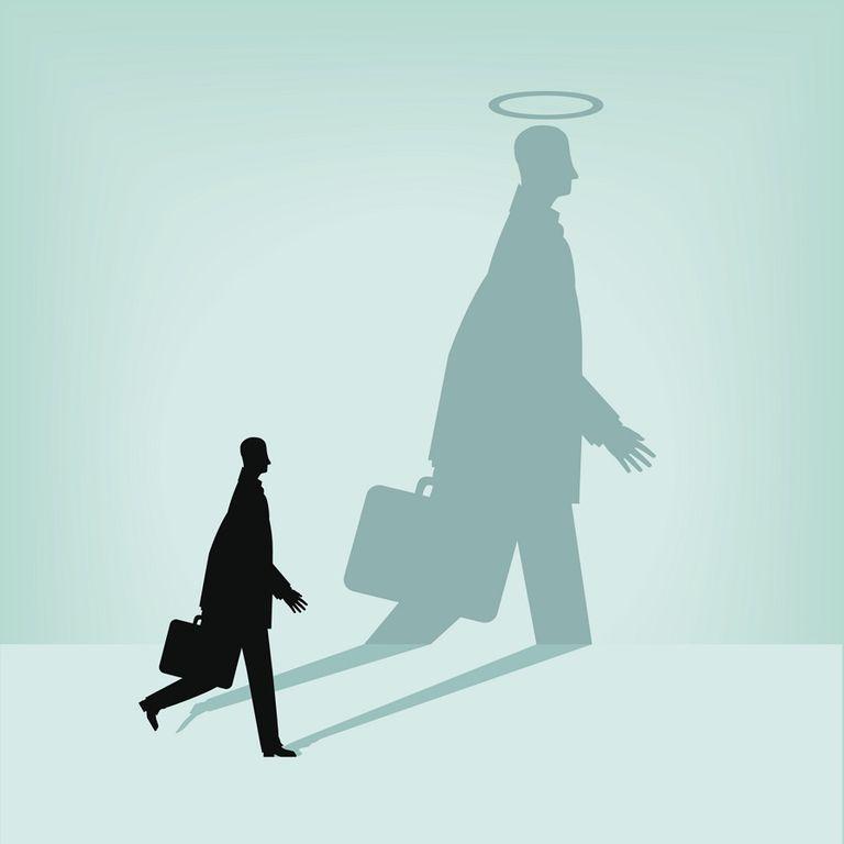 angel of work Jehudiel briefcase