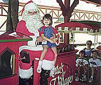 Santa's Village train ride photo