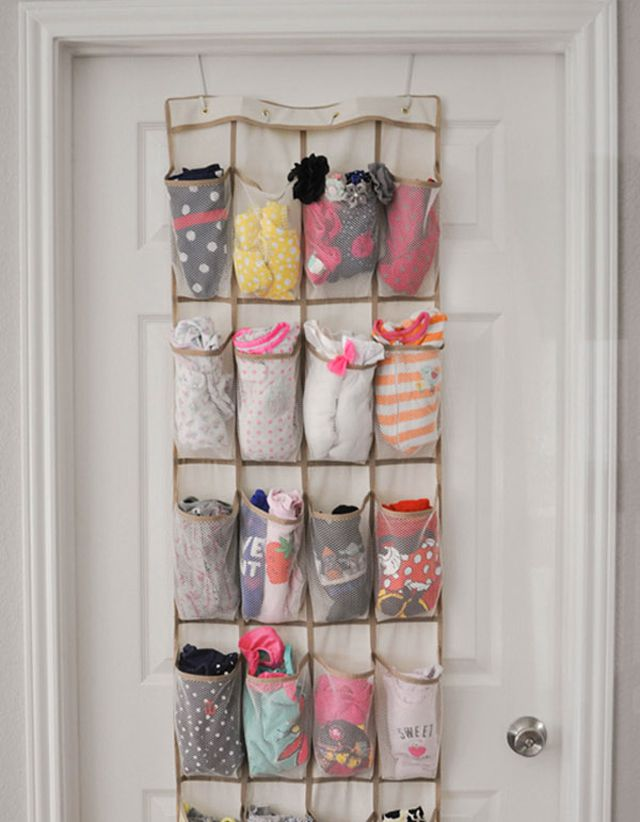 Baby Argues About Trying On Bedroom Shoes: 17 Ways To Organize Baby Clothes