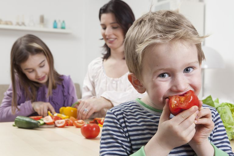 Eating vegetables is essential at every age.