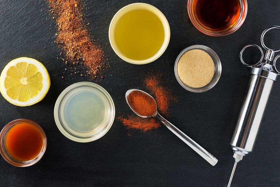 ingredients for cajun turkey injection