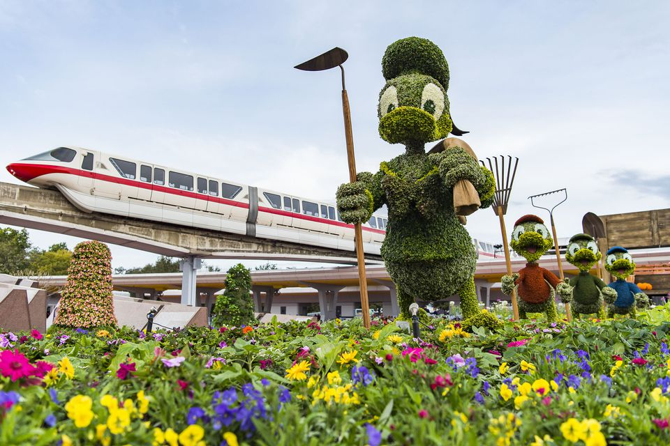 Topiaries at Epcot Flower and Garden Festival