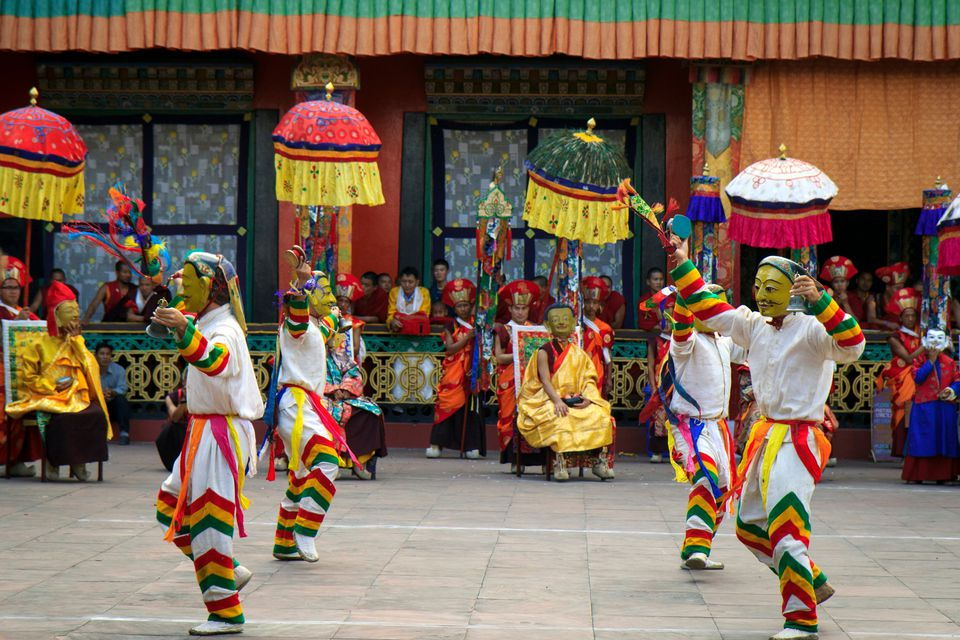 Saga Dawa at Rumtek Monastery, Sikkim.