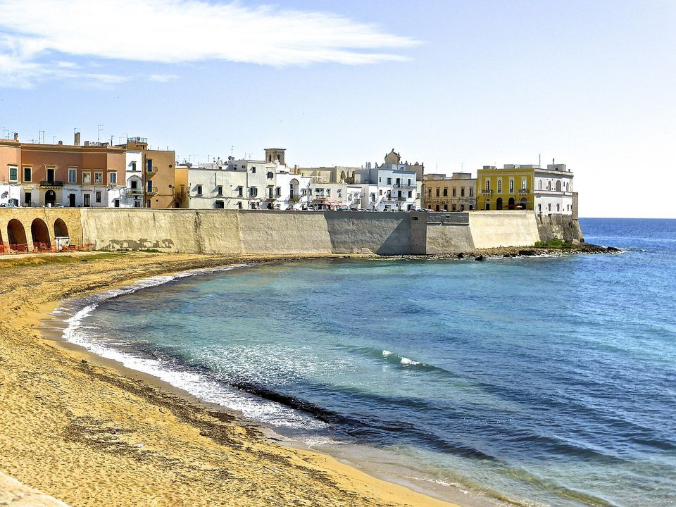 gallipoli beach and old town