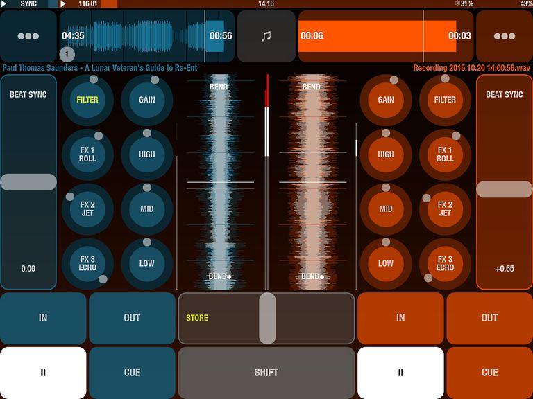 DJ Player on iPad