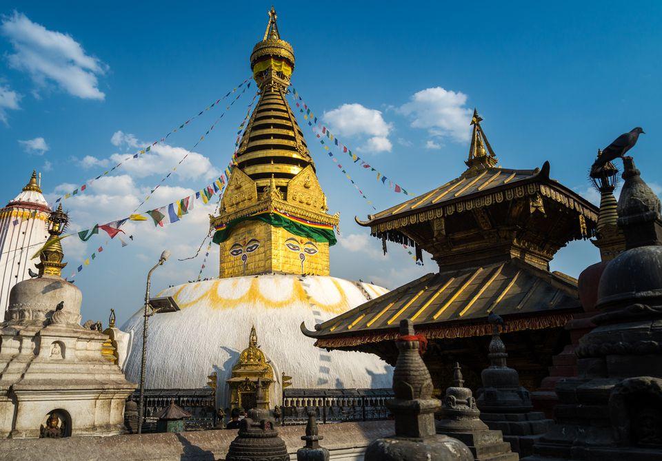 Swayambhunath monastery, Kathmandu, Nepal