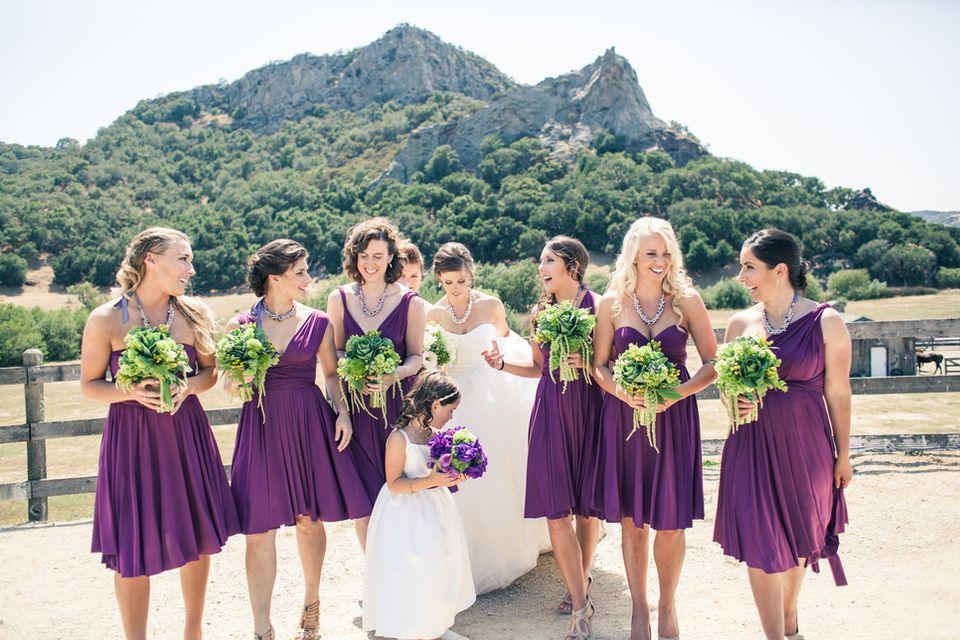 Convertible Bridesmaids Dresses