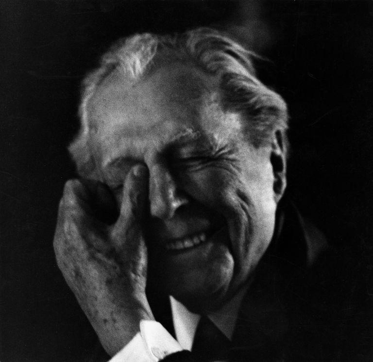 Portrait Of Frank Lloyd Wright