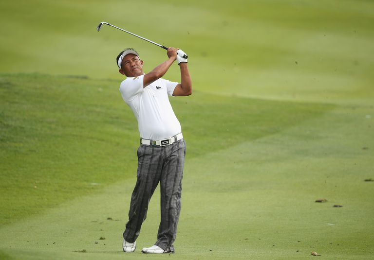 Thongchai Jaidee at the Malaysian Open