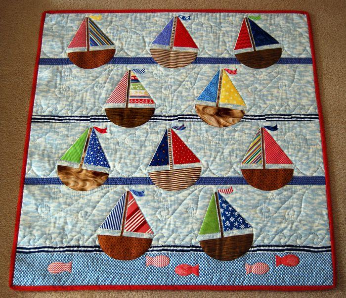 Sailboats Quilt