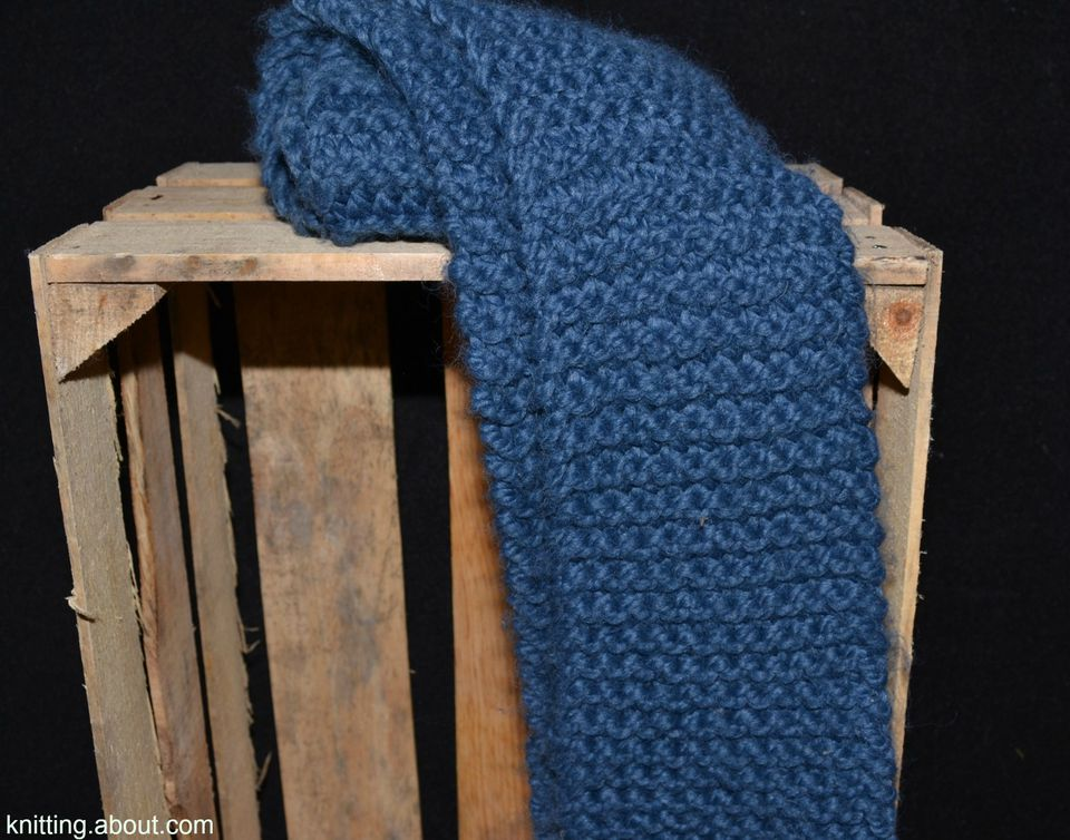 Easy knitting patterns for beginners garter stitch scarf dt1010fo
