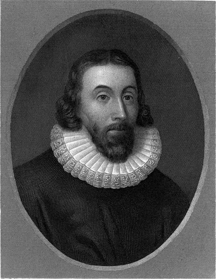 Roger Williams 1636 Portrait