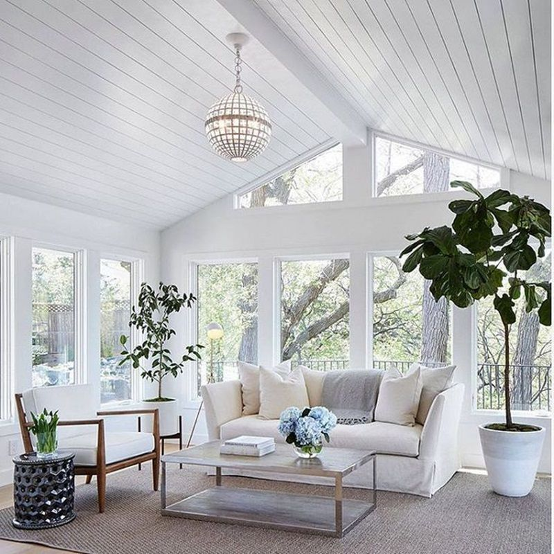 sunroom decorating ideas. A Pop Of Color Like The White Shown Here On Instagram Can Be Beautiful Effect, Especially In Sunroom. Stick To Few Neutral Colors Then Add Bold Pops Sunroom Decorating Ideas S