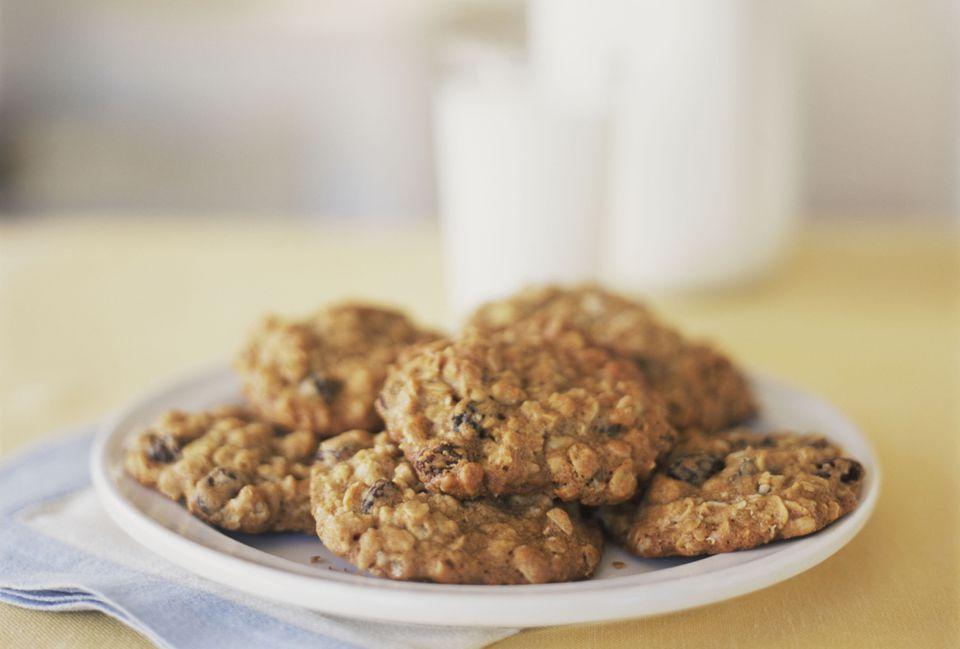 Coconut Oatmeal Drop Cookies