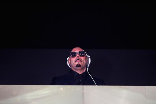 Roger Sanchez performs in the Lavazza Marquee at Flemington Racecourse on November 5, 2013 in Melbourne, Australia.
