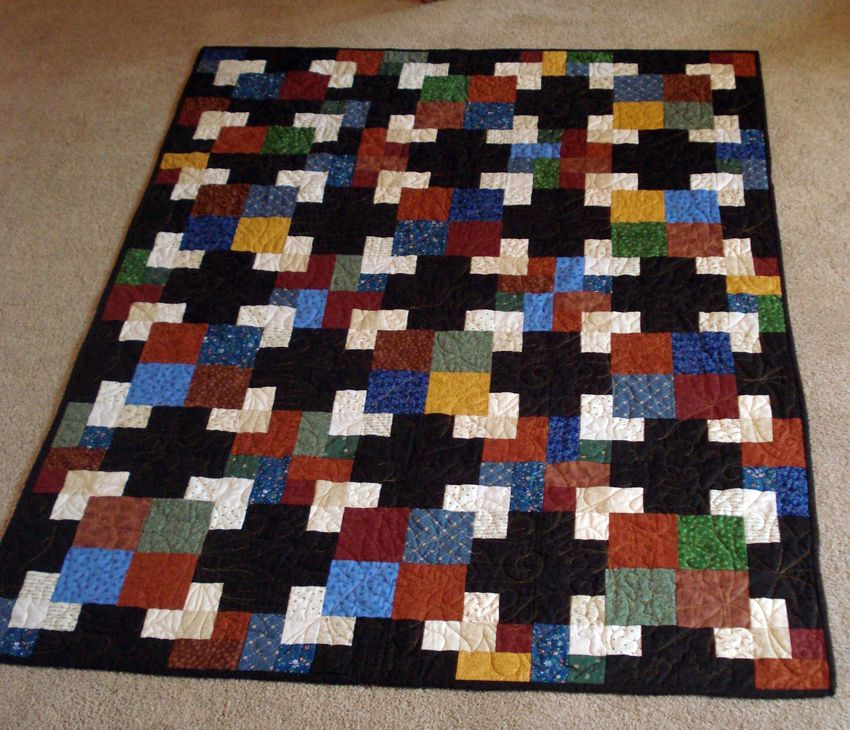 Sew a Quilt with Colorful Overlapping Squares : quilting mysteries - Adamdwight.com