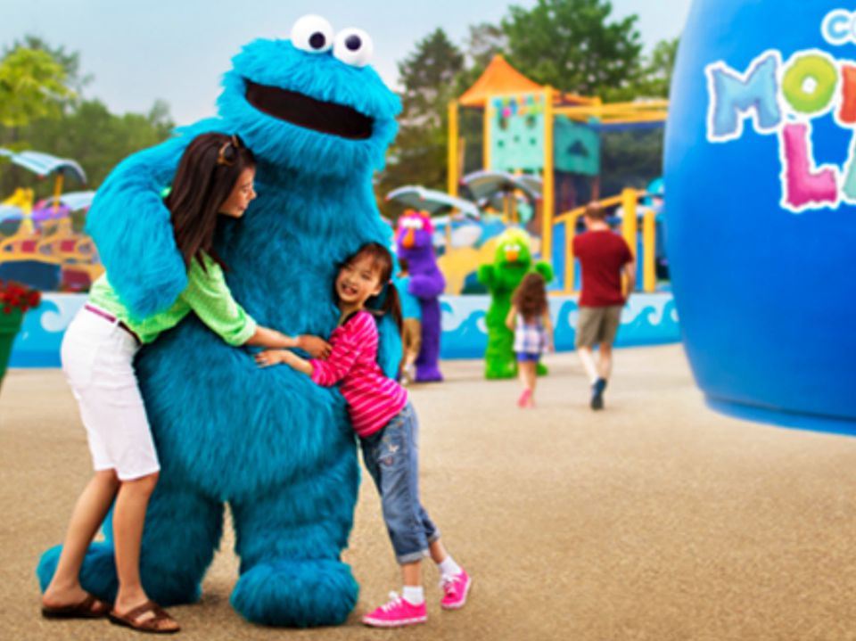 Sesame Place in Langhorne, Pennsylvania