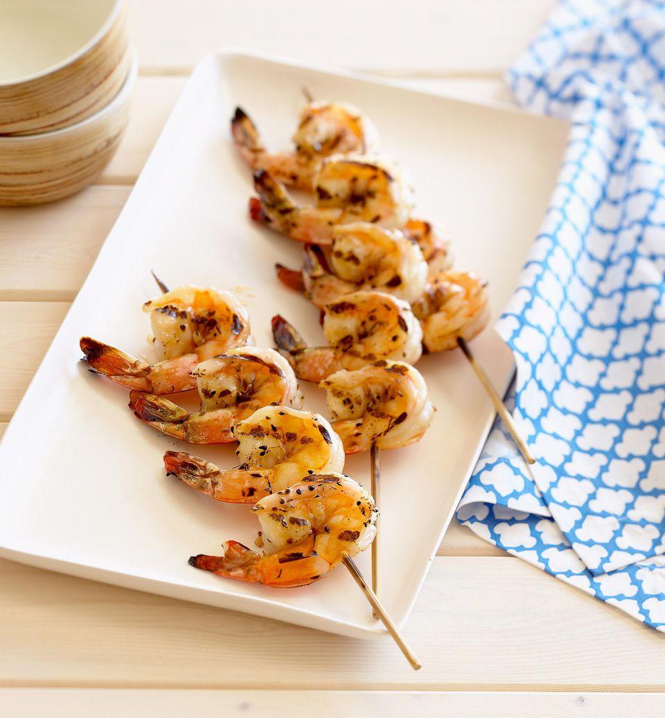 grilled moroccan shrimp