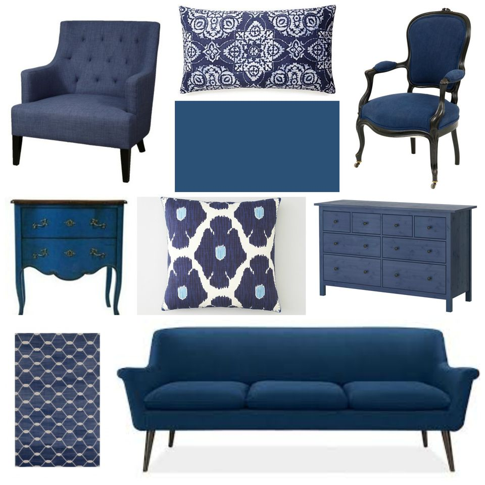 Decorating With Indigo Blue